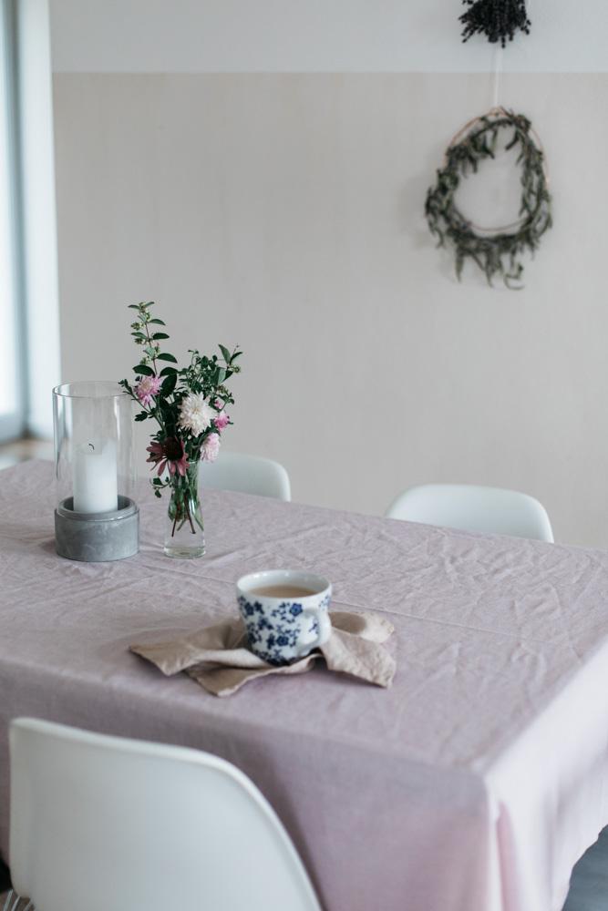 ružový obrus