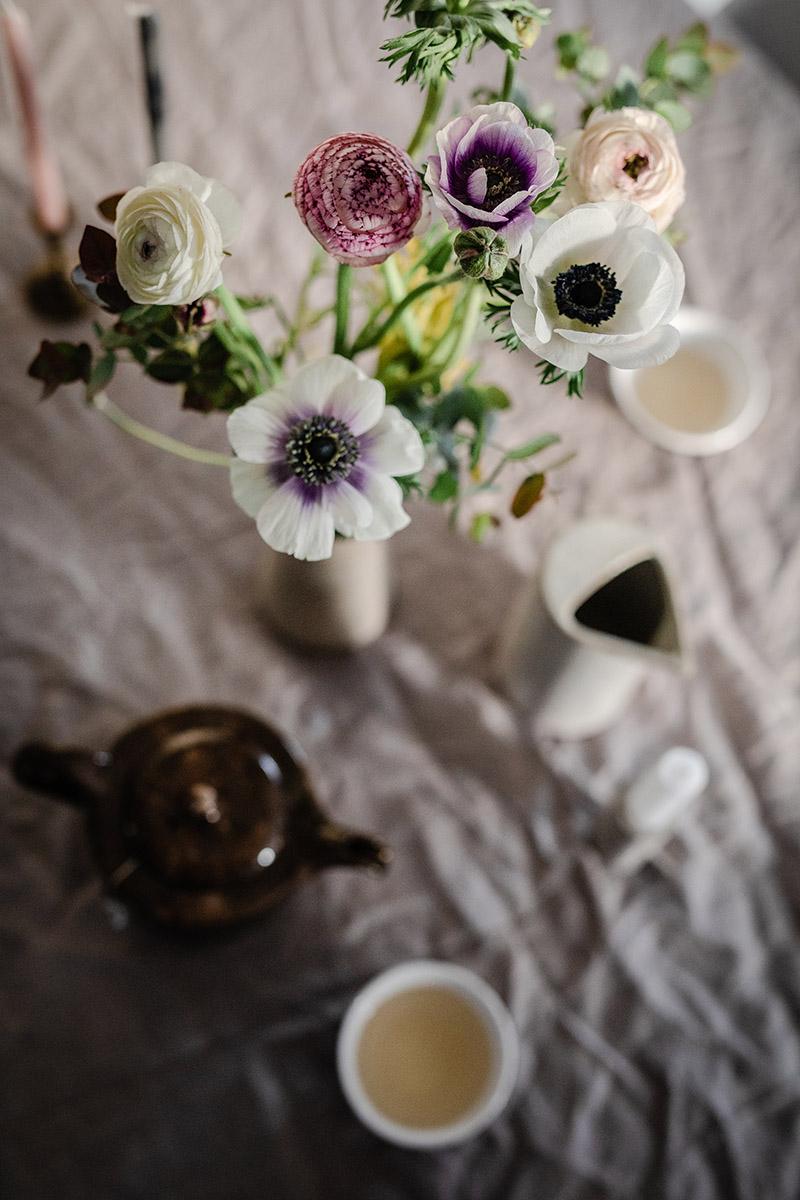 anemone jarne kvety